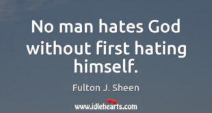 نفرت از خداوند